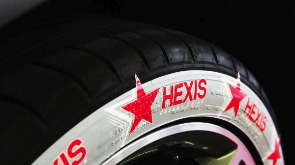 Пленка Hexis STICKNRIDE , кастомизация шин , 750mm, 1 пог.м.