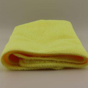 Детейлинг полотенце для чистки и нанесения керамики Dr. Joe DJMF0500, желтое,30cmx30cm