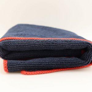 Полотенце для сушки и детейлинга Dr. Joe Ultra 86BLK, черное, 40cmx40cm