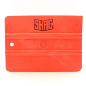 Красный пластиковый ракель SHAG FRATERNITE (средней жесткости)