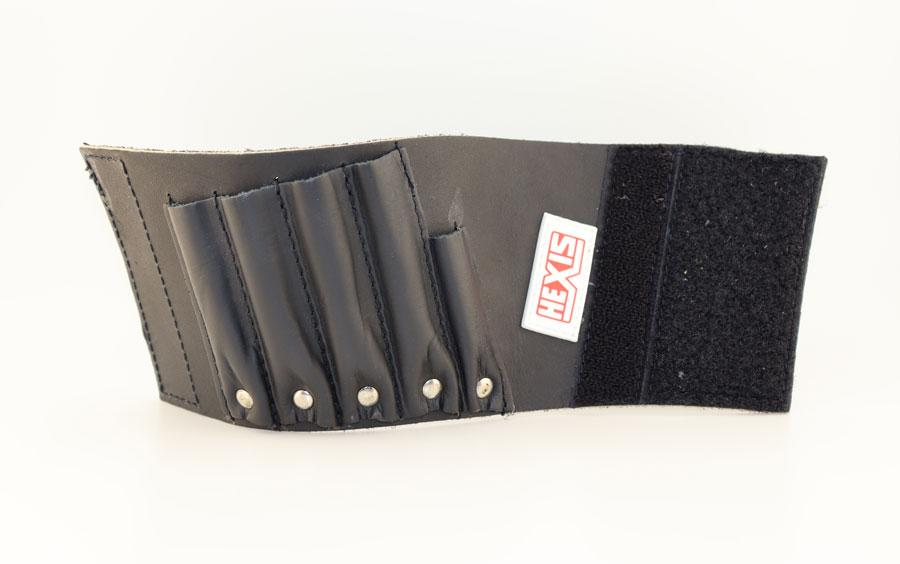Кожаный браслет-держатель для инструментов, HEXIS