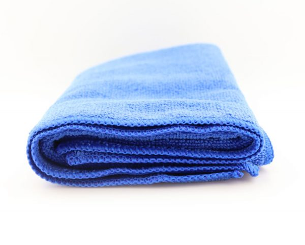Полотенце для сушки и детейлинга , Dr. Joe Ultra 80ROYB, синее, 68 cmx30cm