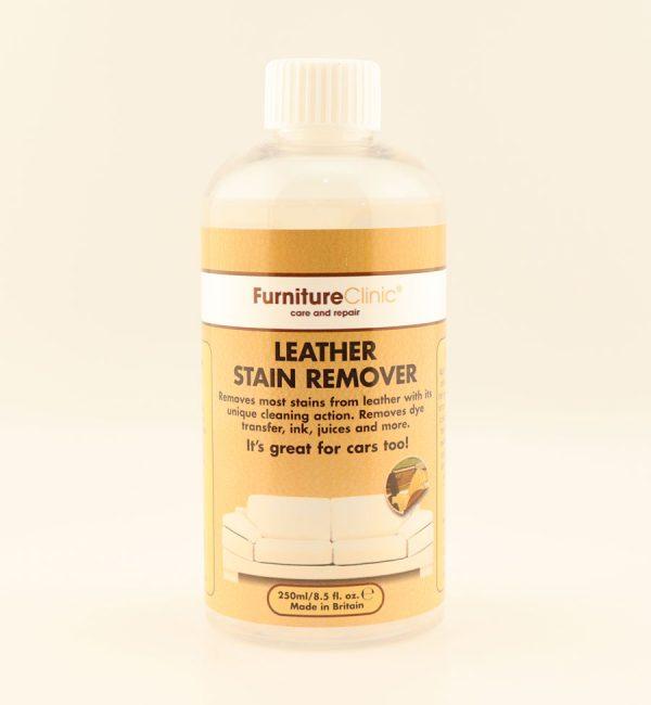 Средство для удаления пятен с кожи Leather Stain Remover, 250 мл