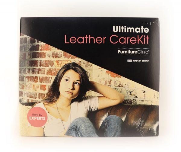Ultimate Leather Care Kit , Большой набор для ухода за кожей.