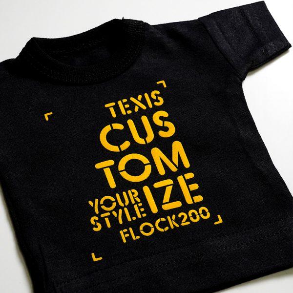 """Термотрансферная пленка HEXIS FLOCK, HFLOCK213 , цвет желтый """"мимоза"""",  510мм, 1 пог.м."""