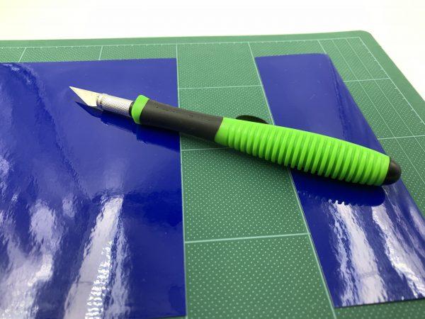 Нож UZLEX EASY-CUT , зеленый