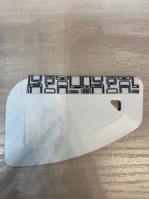 MP ракель с насадкой UZLEX-FIBER (для мобильных телефонов), белый, жёсткий