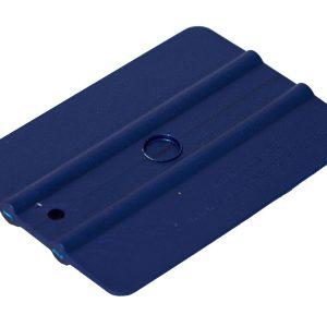 Ракель простой 35М2  WRAP , синий, средней жесткости ,100х75мм