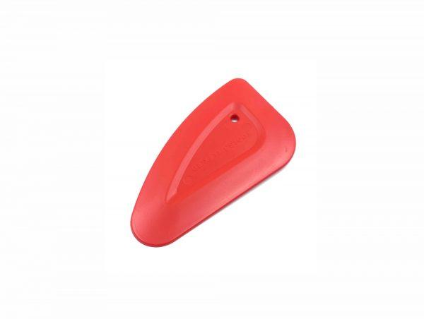 Ракель маленький CHIZZY красный, средней жесткости