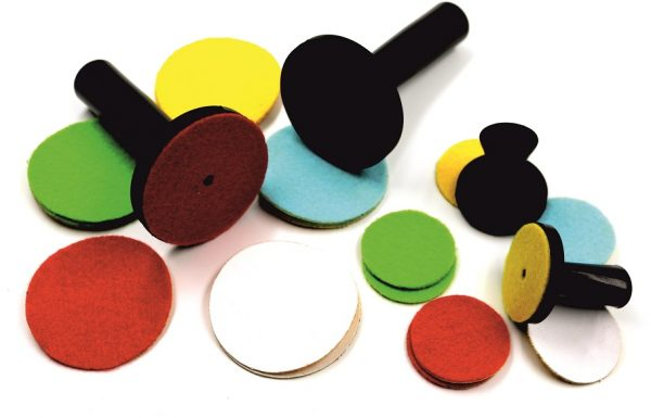 Цветные насадки на магниты, 66 мм,  5шт