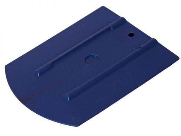 Ракель эргономичный 60М1 WRAP синий, средней жесткости (110х90мм)