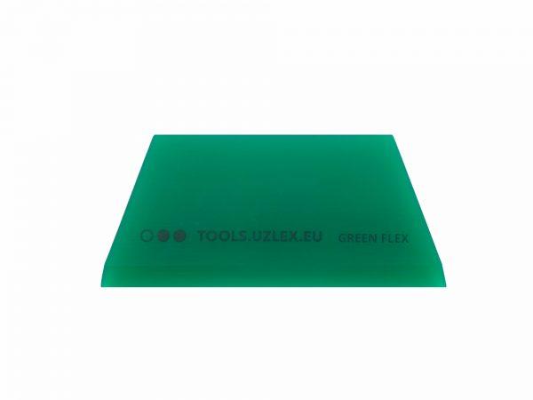 РАКЕЛЬ-ТРАПЕЦИЯ GREEN-FLEX (ПОЛИУРЕТАНОВЫЙ СРЕДНЕЙ ЖЕСТКОСТИ) 45°, 110 x 50 x 6 мм