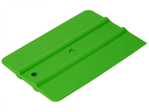 Ракель простой WRAP 30M2, зеленый, мягкий ,100 х 75мм