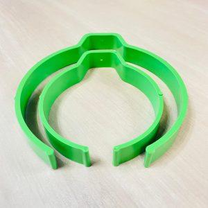 Пластиковый держатель Uzlex, размер S, зеленый