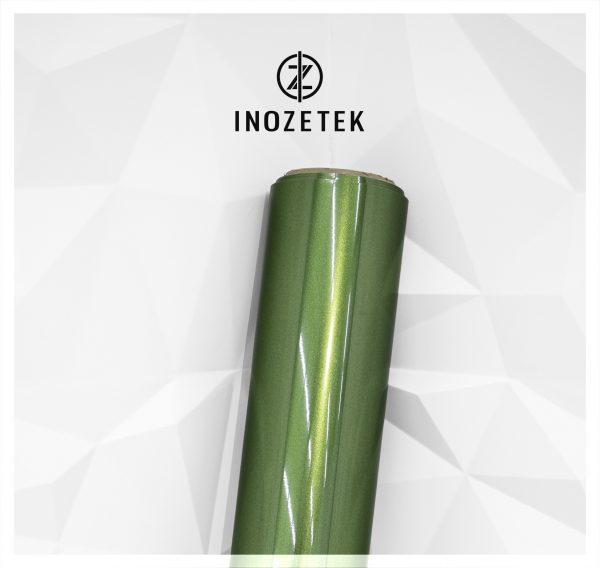 Автовинил INOZETEK MSG020 Super Gloss Metallic Mamba Green 152сm