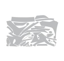 Антигравийный комплект Люкс на автомобиль Toyota RAV4 2020