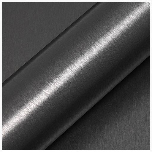 Автовинил HX30BAGANB Brashed  Alu Anthracite Grey Gloss, Hexis, 152cm, 1 рулон