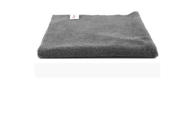 Microfiber Dust Cleaning Towel Grey, SGGD193, Микрофибра  для протирания кузова автомобиля и прочих поверхностей, двусторонняя. 40х40 см