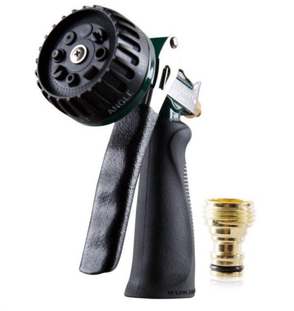 8 Pattern Hose Nozzle , SGGD020, профессиональный 8 ми позиционный водяной пистолет