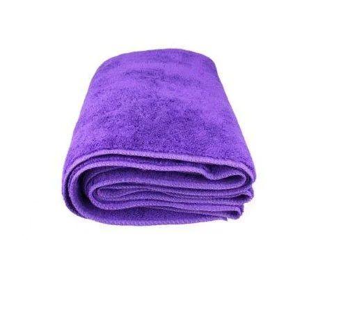 Microfiber Towel Purple, SGCB SGGD073, детейлинг полотенце из микрофибры, фиолетовая 40Х60 см, 400гр.