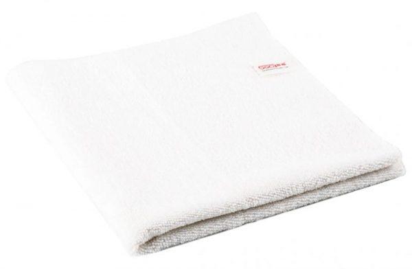 Microfiber dust cleaning Towel SGGD194, White, полотенце для чистки от пыли из микрофибры без кромки, белая 40х40 cm