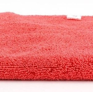 Microfiber edgeless Polish towel Red, SGGD198 детейлинг полотенца для полировки без кромок из микрофибры, красное 40х40cm
