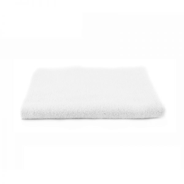 Microfiber Edgeless Coating Towel  White, SGGD203,  детейлинг микрофибра без оверлока коротковорсная , белая 40х40cm