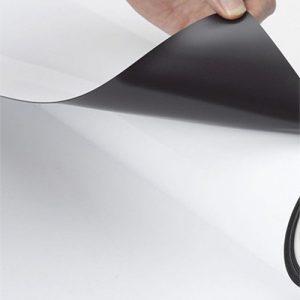 VM380WM Magnetic film printable 127cm , магнитная пленка для печати  300 микрон