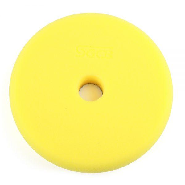 Полировальный круг антиголограммный желтый
