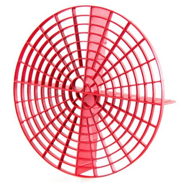 Грязевой сепаратор для ведра красный